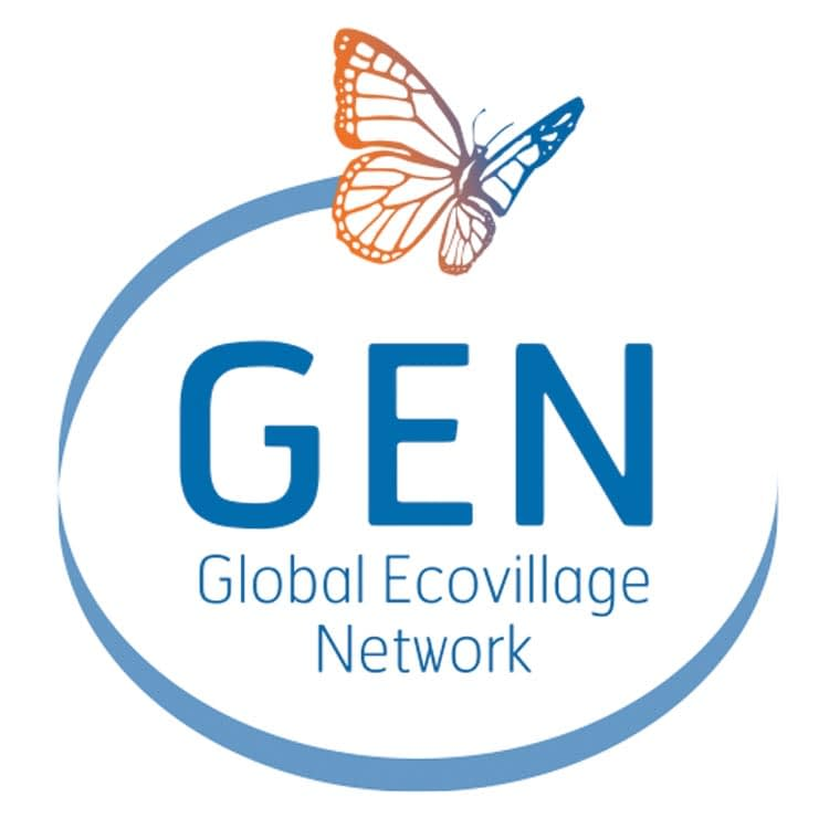 Global ecovillage network logo